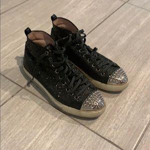 Miu Miu Glitter Sneakers